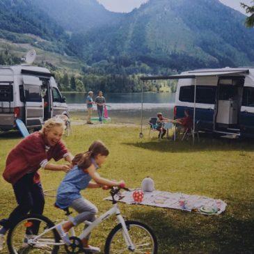 Op reis met een camperbusje