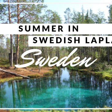 VIDEO: Zweeds Lapland in de zomer