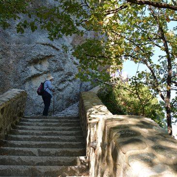 Wandelen rond de kloosters van Meteora