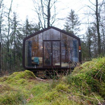 Overnachten midden in de Drentse bossen