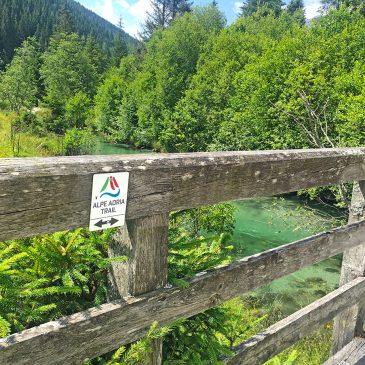 Wandel de Alpe Adria Trail van Mallnitz naar Obervellach