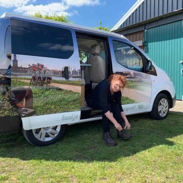 Outdoorbloggen met een e-camper door Overijssel