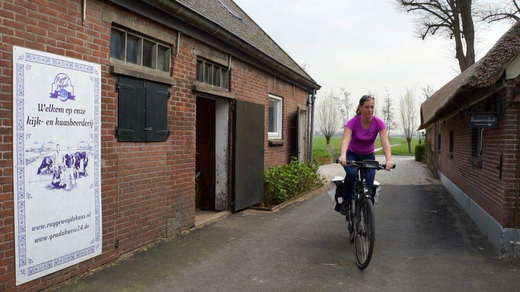 Boeren kaas fietsroute