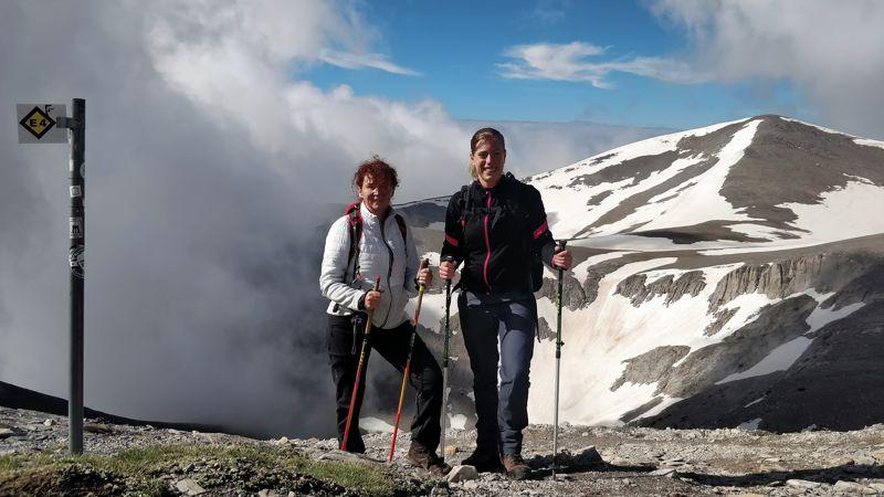 Bregje en Mirre in nationaal Park Mount Olympus