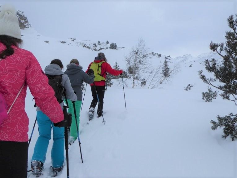 Sneeuwschoenwandelen in Montafon - Silvrettasee